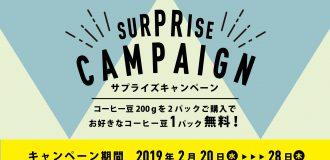 サプライズキャンペーンスライド画像