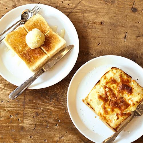 ハニーバニラトースト ポテトチーズトースト