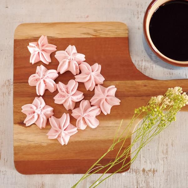 桜メレンゲ