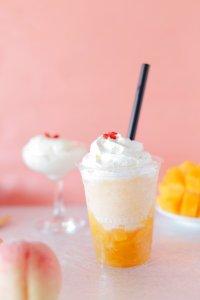 フローズンプレッソ桃とマンゴー